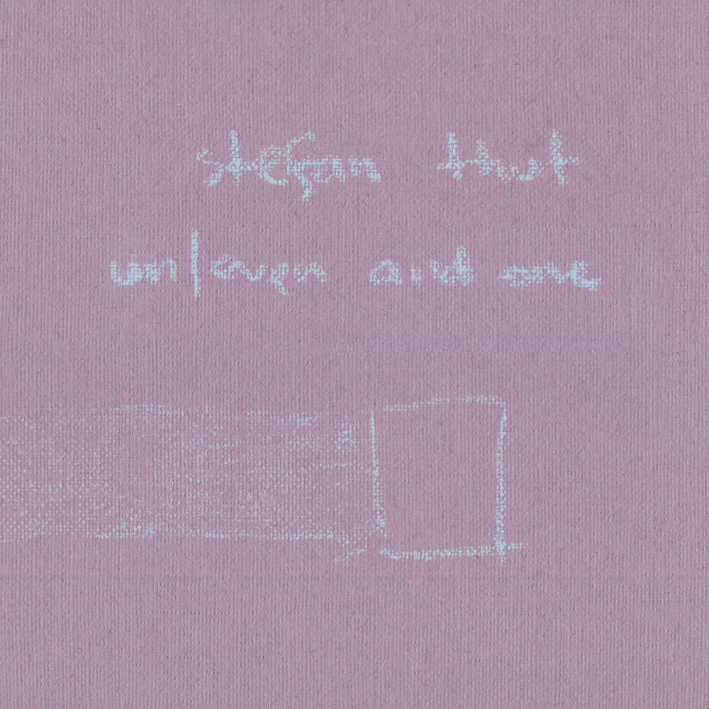 Stefan Thut - Un/Even And One